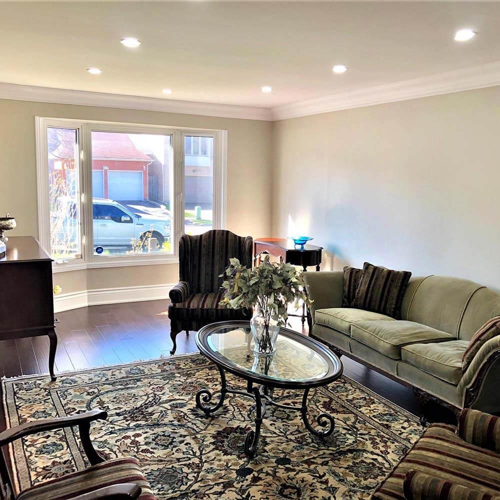 Living room painter Thornhill