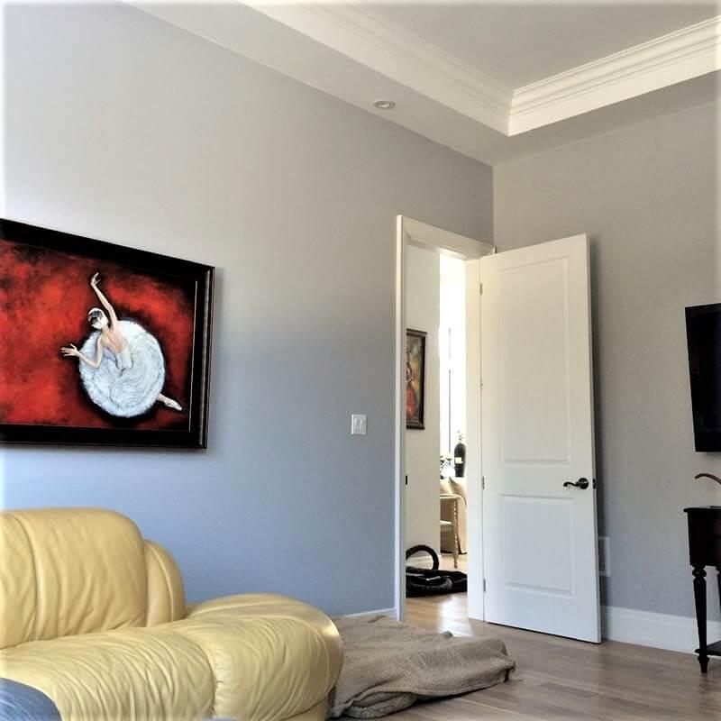 Richmond hill apartment painting