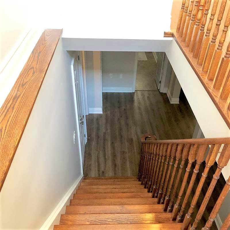 Richmond hill staircase painting services