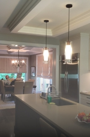 Interior painting project North York