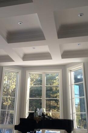 Arkadys interior painting project Brampton